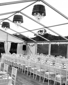 Black and White Marquee